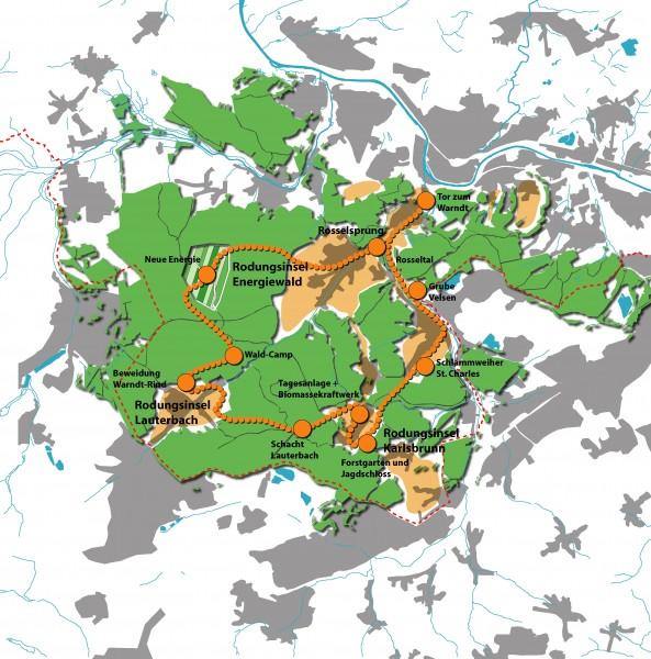 070926 Neue Insel Wanderweg Stationen