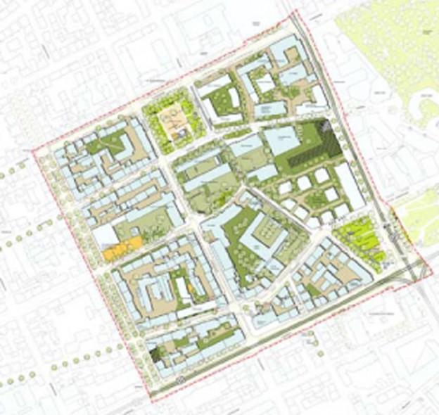 130201 Diakonissenplatz Rahmenplan