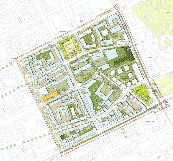 Diakonissenplatz_Lageplan gesamt_Ausschnitt