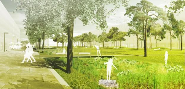 Grüne Mitte Neckarpark
