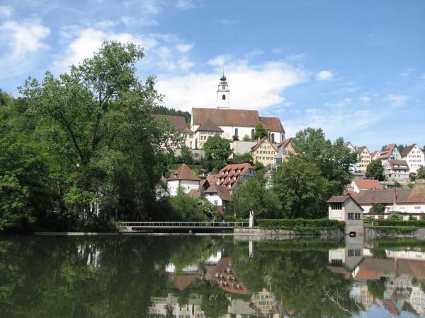 Stadt-Horb-mit-Steg