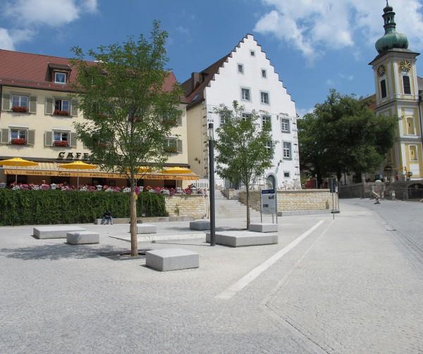 1 Lammplatz und Donaurelief