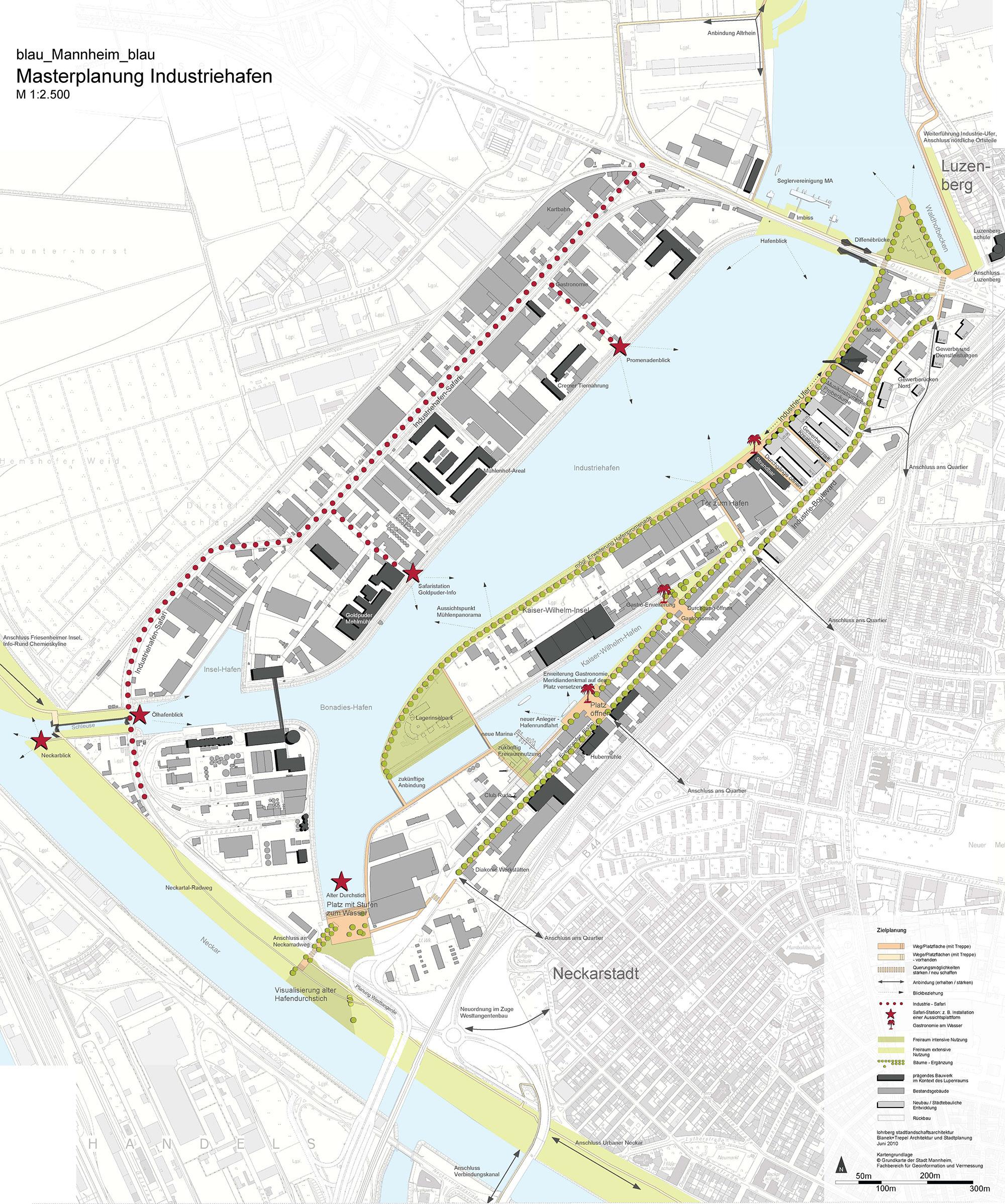 Industriehafen-Entwurf Mannheim